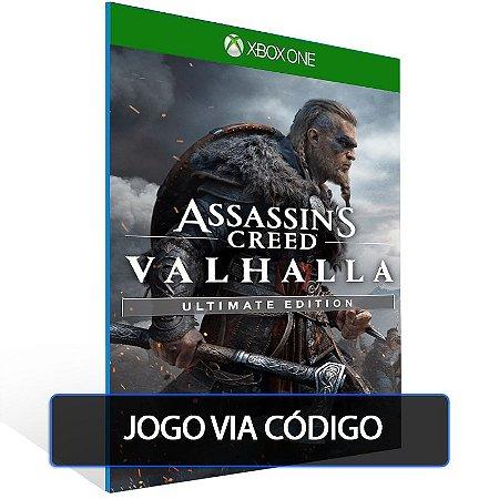 Assassin's Creed Valhalla Ultimate Edition - XBOX ONE - CÓDIGO 25 DE DÍGITOS BRASILEIRO