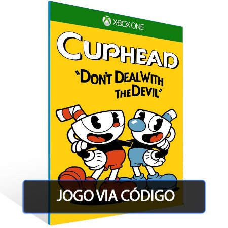 Cuphead- Código 25 dígitos - Xbox One