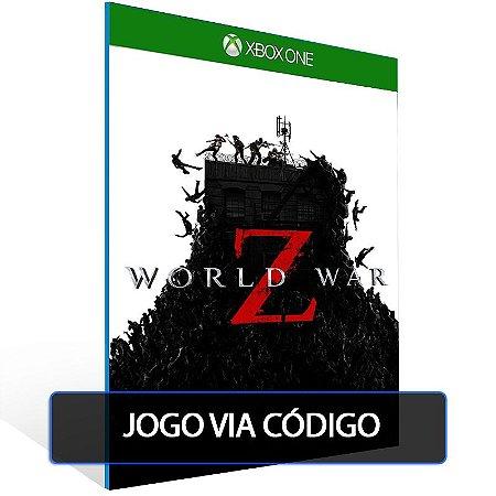 World War Z- Código 25 dígitos - Xbox One
