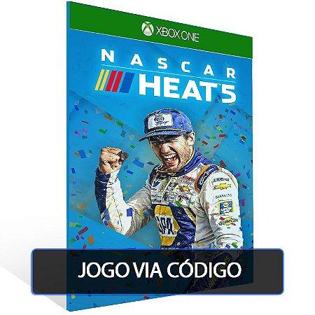 NASCAR Heat 5- Código 25 dígitos - Xbox One