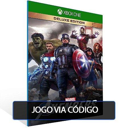 Marvel's Avengers: Edição de Luxo- Código 25 dígitos - Xbox One