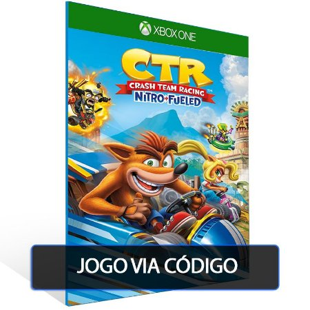 Crash™ Team Racing Nitro-Fueled- Código 25 dígitos - Xbox One