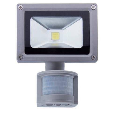 Refletor Holofote Led Sensor Presença 30w Bivolt