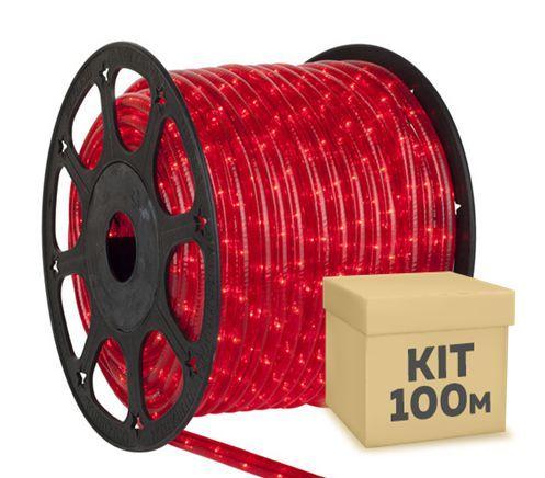 Fita Led 5050 Rolo 100 Metros Vermelho Ultra Intensidade