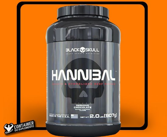 c8adad0f1 HANNIBAL 907 G ( 2 LBS ) BLACK SKULL - CONTAINER DO SUPLEMENTO ...