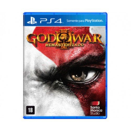 JOGO GOD OF WAR 3 - REMASTERIZADO - PS4