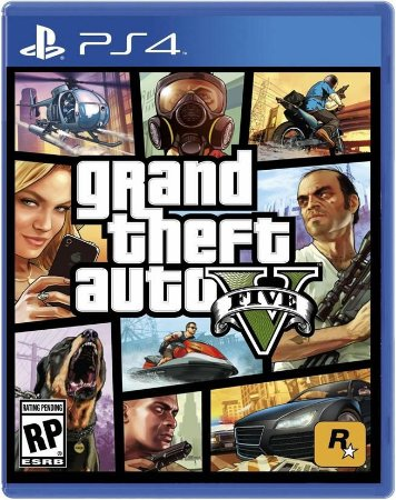 GTA V - Grand Theft Auto Five - PS4