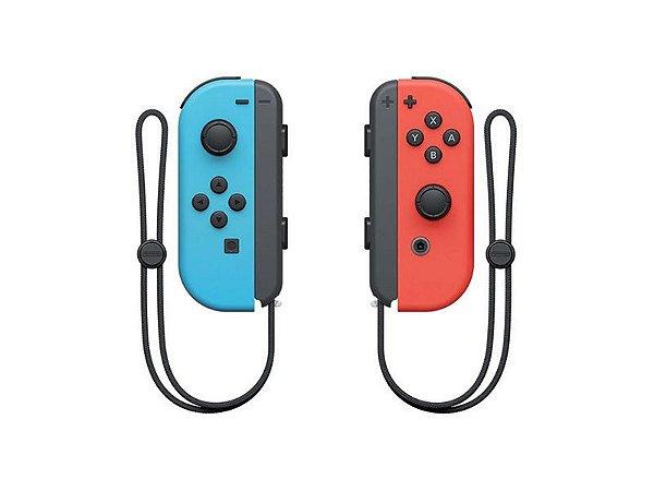 Joy-Con para Nintendo Switch - Neon Red/Neon Blue