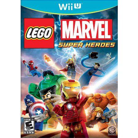 JOGO LEGO MARVEL SUPER HEROES - WII U