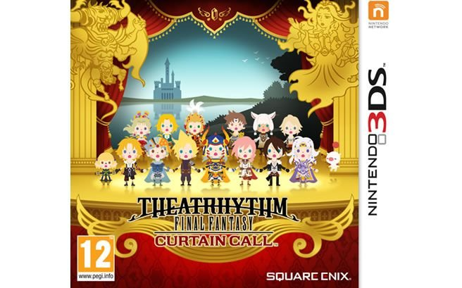 JOGO THEATRHYTHM FINAL FANTASY CURTAIN CALL - NINTENDO 3DS