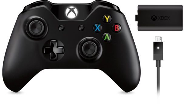Controle Xbox ONE Play and Charge - Microsoft