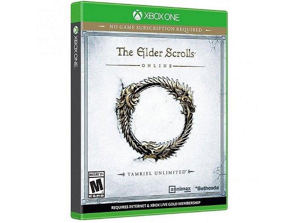 JOGO THE ELDER SCROLLS ONLINE - TAMRIEL UNLIMITED XBOX ONE