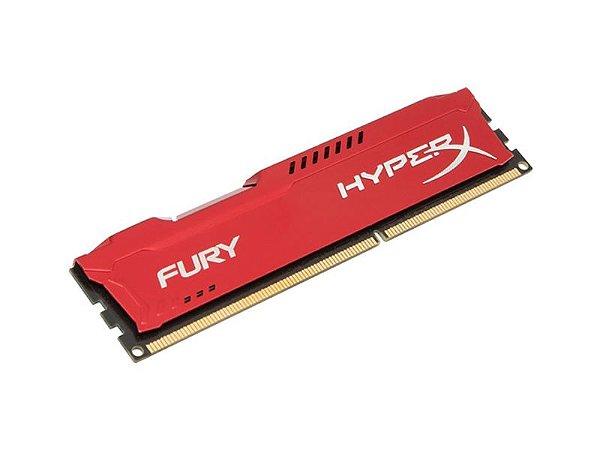 Memoria 8GB Hyper-x DDR3 1866mhz Vermelho
