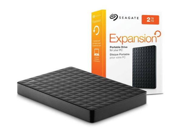 HD Externo Seagate Expansion 2TB - Preto
