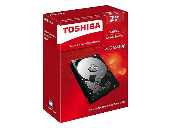 HD Toshiba 3TB P300 para Desktop - HDWD130
