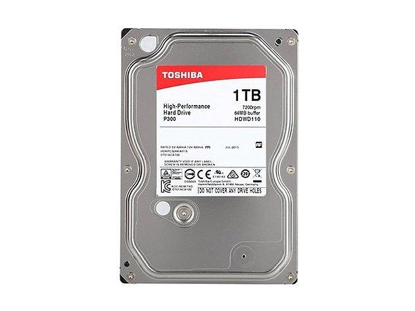 HD Toshiba 1TB P300 para Desktop - HDWD110