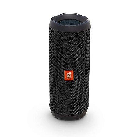 Caixa de Som JBL Flip 4 Bluetooth - Preta ORIGINAL!
