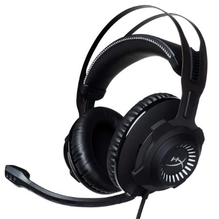 Headset HyperX Cloud Revolver S Surround 7.1 Gaming Preto