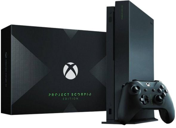 Xbox One X  1TB 4K - Edição Project Scorpio
