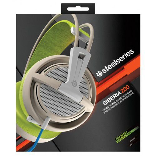 Headset SteelSeries SIBERIA 200 GREEN