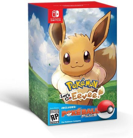 Pokémon Let's Go Eevee! + Poké Ball Plus