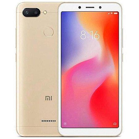 Smartphone Xiaomi Redmi 6 Dual - 64GB Dourado