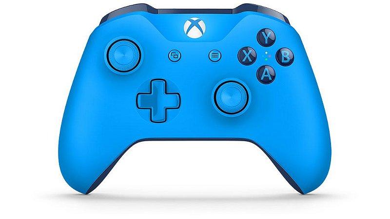 Controle Xbox One S Wireless - Azul