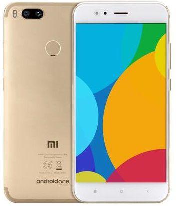 "Xiaomi MI A1- 64GB / 4GB Ram / 5.5"" / Cam 12MP / Octa-Core - Dourado"