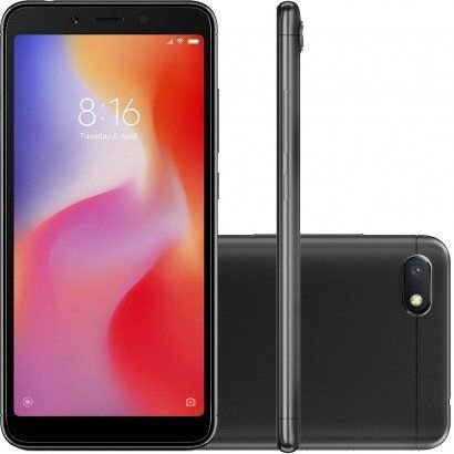 "Xiaomi Redmi 6A / 2GB Ram / 16 GB / 5.45"" / Câm 13MP / Quad-Core"
