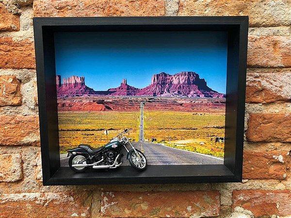 QUADRO 3D MOTO GRAN CANYON