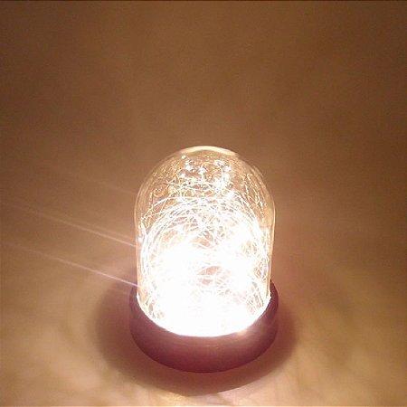 CUPULA LED VIDRO