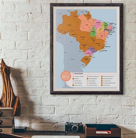 MAPA RASPADINHA DO BRASIL
