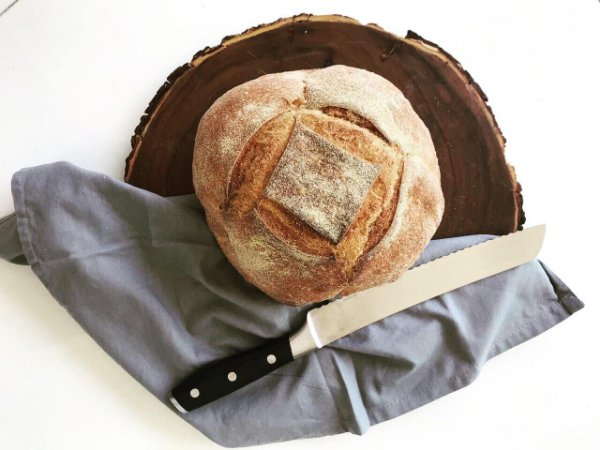 Pão Artesanal Milho Orgânico (PurusPanis) - 500g