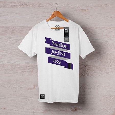 Camisa INSIST Faixa Roxa Cruzada