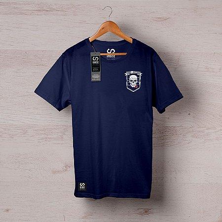 Camisa INSIST Caveira Brasão Peito