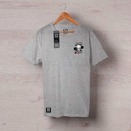 Camisa INSIST Caveira Faixa Cruzada Peito