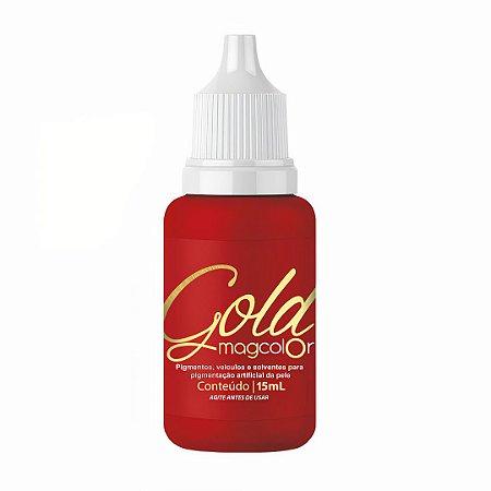 Pigmento Mag Color Gold 15 ml – Vermelho