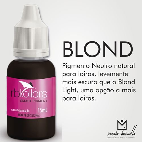 Pigmento Rb Kollors Blond 15ml