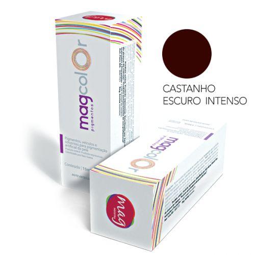 Pigmento Mag Color Castanho Escuro Intenso 15ml