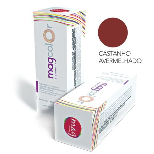 Pigmento Mag Color Castanho Avermelhado 15ml