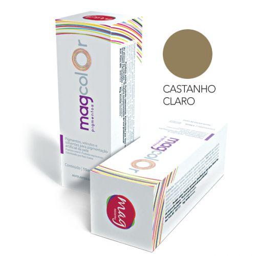 Pigmento Mag Color Castanho Claro 15ml