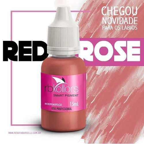Pigmento Rb Kollors Red Rose 15ml