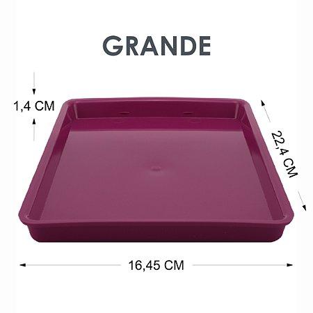 Bandeja Vinho Tray Autoclavável G 22,4 X 16,45 X 1,4