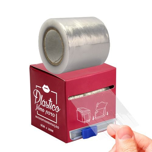 Plástico Filme Para Micropigmentação De Lábios