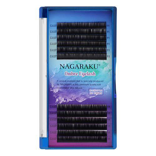 CÍlios Nagaraku Ombre Fio a Fio - Gradiente Azul / Roxo