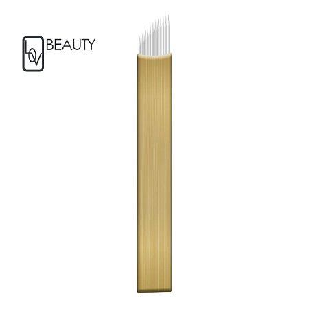 Lâmina Hard Chanfrada - 0,18mm (Micro) Lov Beauty