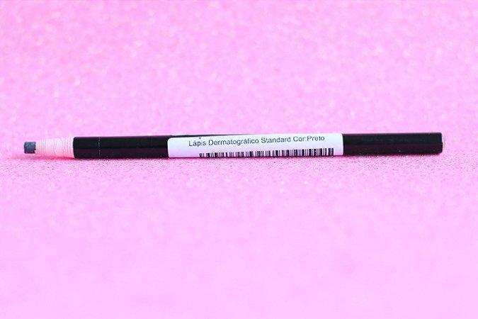Lápis Dermatográfico Alta Qualidade Preto - SEM TAMPA (Nº3)
