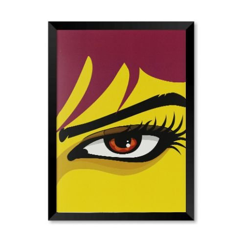 QUADRO DECORATIVO EYE CLOSE