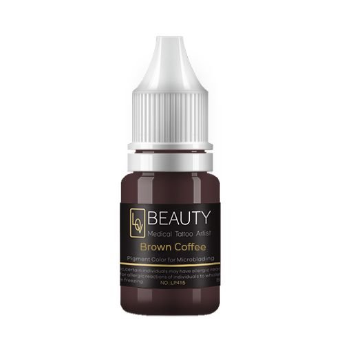 Pigmento Lov Beauty Brown Coffee - Microblading
