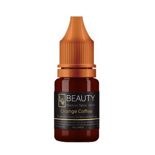 Pigmento Lov Beauty Orange Coffee - Micropigmentação